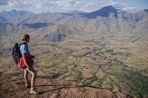 Depuis le sommet du Tsaranoro à 1790 m d'altitude - Madagascar -