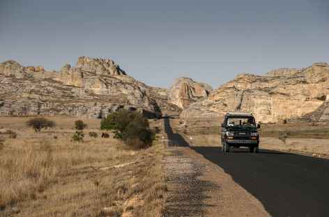 RN7 vers le massif de l'Isalo - Madagascar -