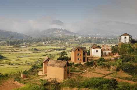 Sur les hautes terres malgaches -