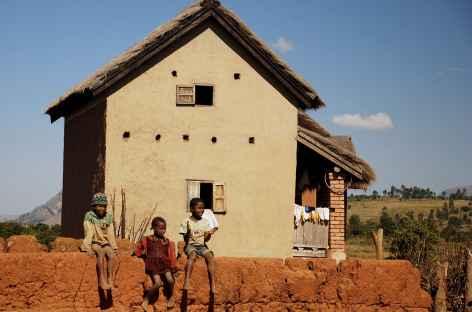 Maison traditionnelle des Hautes Terres - Madagascar -