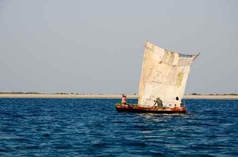 Bateau sur la côte Ouest de Madagascar -