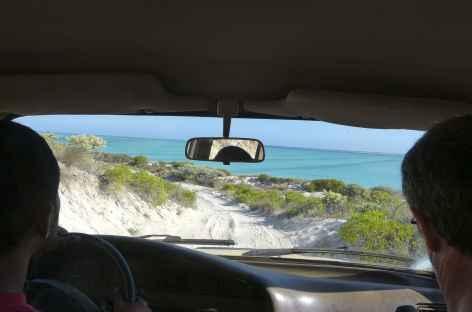Piste sur la côte ouest de Madagascar -