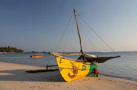 Pirogue traditionnelle du peuple Vezo - Madagascar -