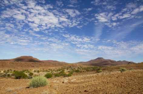 Paysage du Damaraland - Namibie -