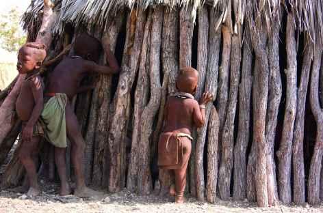 Village himba - Namibie -