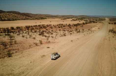 route vers le Damaraland -