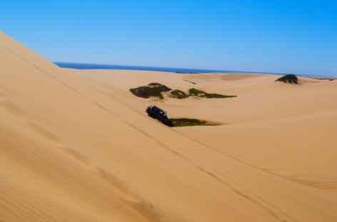 4x4 sportif à Sandwich Harbour - Namibie -