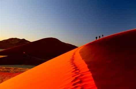 Dunes du Namib au lever du soleil - Namibie -
