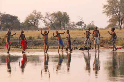 Sur les rives de la rivière Chobe - Botswana -