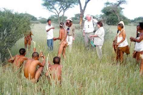 Bushmen, vers Grootfontein - Namibie -