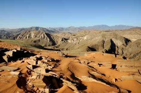 Vallée de Hartmann, entre sable et roche, Kaokoland - Namibie -