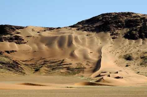 Dunes dans la vallée de Hartmann, Kaokoland - Namibie -