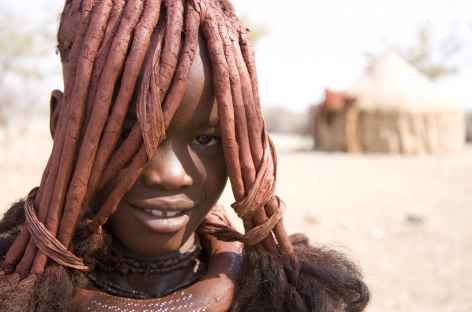 Jeune fille himba, Kaokoland - Namibie -