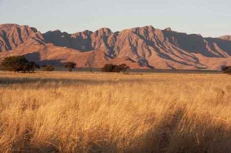 Montagnes du Naukluft, vue depuis Sesriem - Namibie -