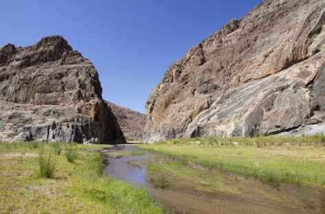 Gorge du Hoarusib, Kaokoland - Namibie -