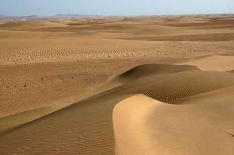 Barkhanes entre les vallées de Hartmann et Khumib, Kaokoland - Namibie -