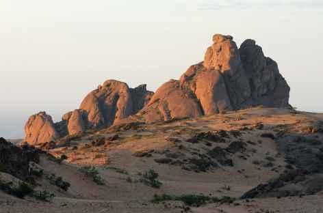 Kopje granitique, vallée de Hartmann, Kaokoland - Namibie -