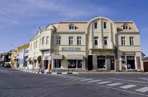 Centre-ville de Lüderitz - Namibie -