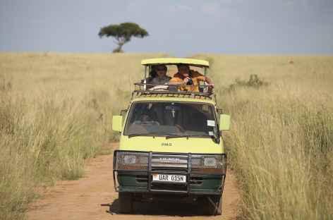 Safari dans la savane dorée de Murchinson - Ouganda -