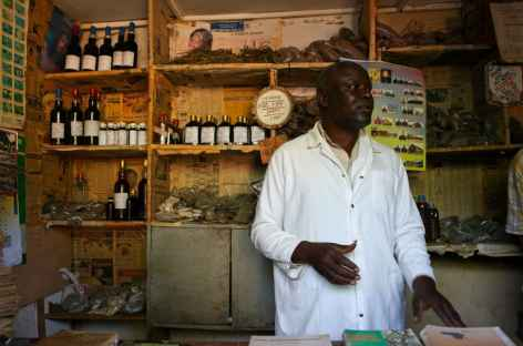 Guérisseur traditionnel à Fort Portal - Ouganda -