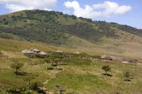 Village masai vers le Lengai - Tanzanie -