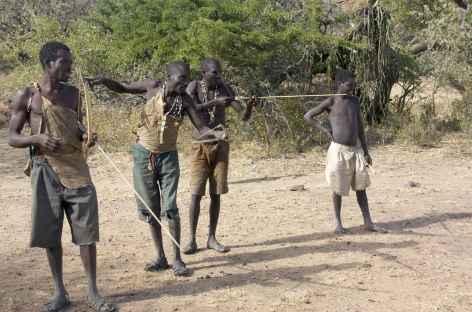 Ethnie hadzabe - Tanzanie -