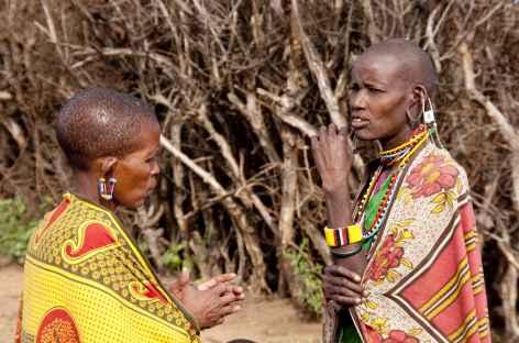 Femmes masai - Tanzanie -