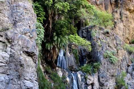 Cascade au-dessus du village de Ngare Sero, secteur du lac Natron - Tanzanie -