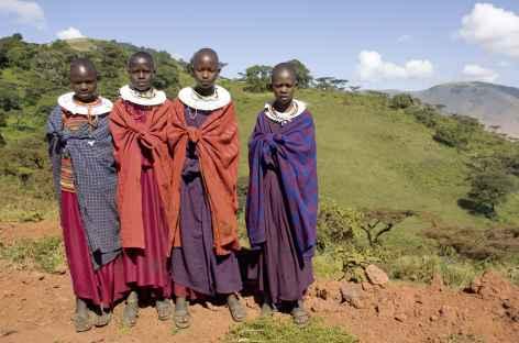 Jeunes filles masai -