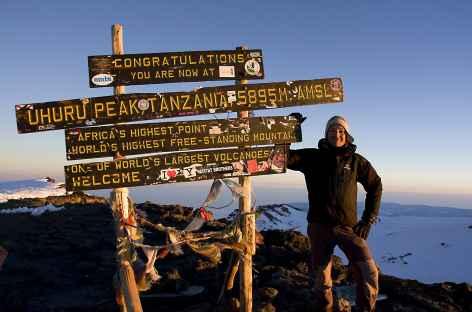 Le Kilimanjaro, Toit de l'Afrique à 5895 m - Tanzanie -