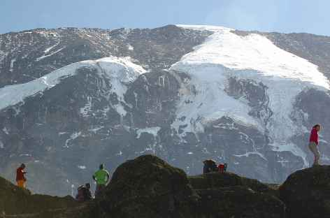 Glaciers sud du Kilimanjaro - Tanzanie -