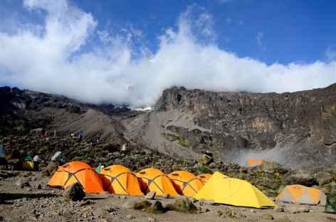 Camp de Barranco (3950 m), Kilimanjaro - Tanzanie -