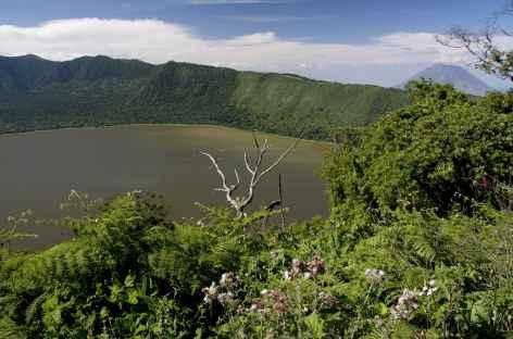 Lac de cratère Empakai - Tanzanie -