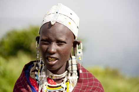 Jeune fille masaï - Tanzanie -