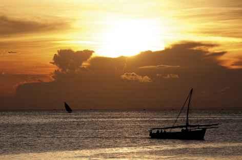 Coucher de soleil depuis Stone Town, Zanzibar - Tanzanie -