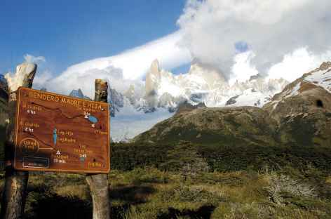 Balade vers la laguna de los Tres - Argentine -