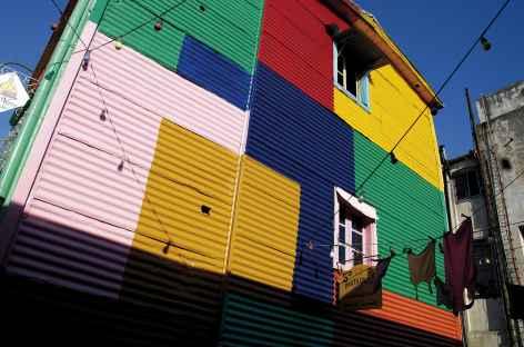 Buenos Aires, le quartier La Boca - Argentine -