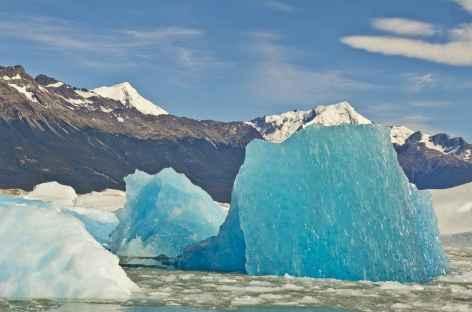 Navigation sur le lac Argentino - Patagonie - Argentine -