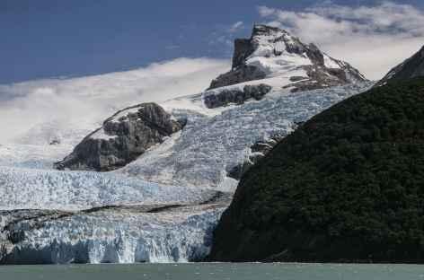 Navigation sur le lac Argentino, approche du glacier Spegazzini - Argentine -