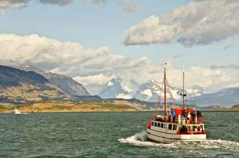 Le fjord Ultima Esperanza à Puerto Natales - Chili -