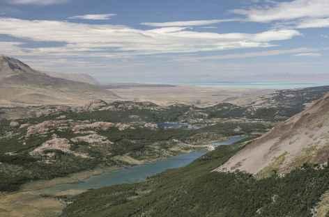 Le lac turquoise Viedma et les lagunas Madre, Hija et Capri - Argentine -