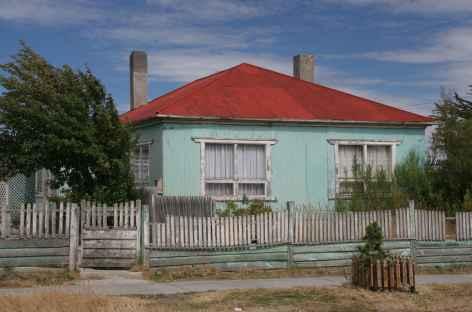 Maison typique à Puerto Natales - Chili -