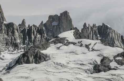 Vue depuis le mirador de la laguna de los Tres - Argentine -
