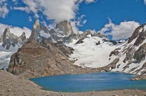 La laguna de los Tres dans le PN des Glaciers - Argentine -