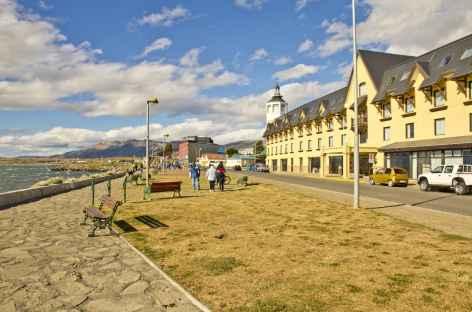La ville de Puerto Natales - Chili -