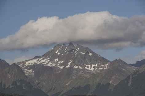 Ushuaia, vue sur le mont Olivia - Argentine -