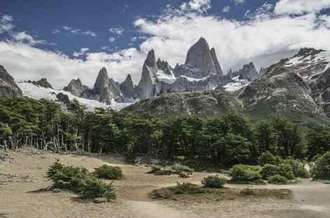 Parc national des Glaciers, montée vers la laguna de los Tres - Argentine -