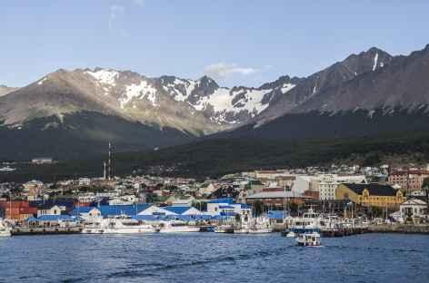 Le port d'Ushuaia - Argentine -