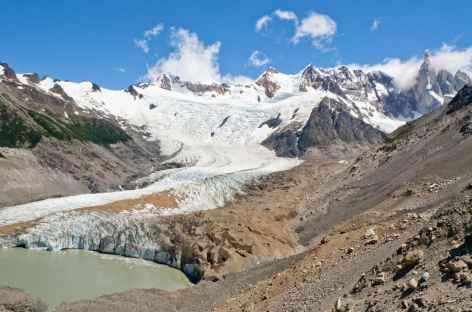 Parc national des Glaciers, la laguna Torre au pied du Cerro Torre - Argentine -