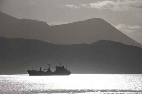 Ambiance dans le port d'Ushuaia - Argentine -